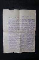 VIEUX PAPIERS - Lettre D'un Père De La Mission Catholique De Nasso ( Haute Volta ) En 1954, Texte à Voir - L 48800 - Vecchi Documenti