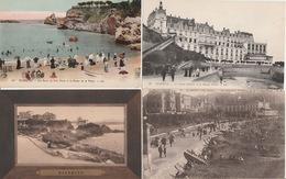 19 / 12 / 114. -  BIARRITZ  ( 64 )  4     CPA   &  2   C P S M. - Postkaarten