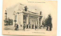 75* PARIS -   Expo 1900-  Manufacture De Tabac - Ausstellungen