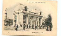 75* PARIS -   Expo 1900-  Manufacture De Tabac - Exposiciones