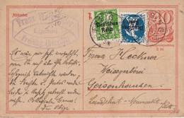 ALLEMAGNE  1922    ENTIER POSTAL/GANZSACHE/POSTAL STATIONERY CARTE DE FREISING - Postwaardestukken