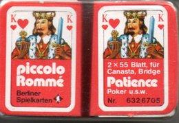 2 Mini Jeux De 54 Cartes A Jouer Jeu - Joker Playing Card - 54 Kaarten