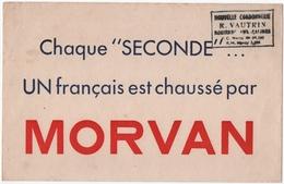 BUVARD. ROSIERES-aux-SALINES (54) CHAUSSURES  MORVAN. NOUVELLE CORDONNERIE R. VAUTRIN. - Zapatos