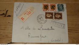 Enveloppe Recommandée Par EXPRES De 1945 ….................… NZ - Francia
