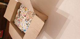 Vrac De 3,5 Kg Dans Un Carton - Timbres