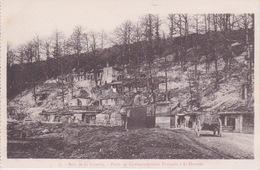 MILITARIA _ GEURRE 1914 - BATAILLE DE L'ARGONNE -  BOIS DE LA GUERIE - POSTE DE COMMANDEMENT FRANÇAIS A LA HARAZÊE - Guerre 1914-18
