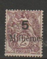 PORT SAID          N°  YVERT  : 62    NEUF AVEC  CHARNIERES      (  CH  01/36 ) - Port-Saïd (1899-1931)
