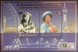 Vanuatu 2000 Stamp Show Queen Mother Minisheet MNH - Vanuatu (1980-...)