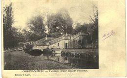 CAMBRON-CASTEAU  L'abbaye , Grand Escalier D' Honneur. - Brugelette