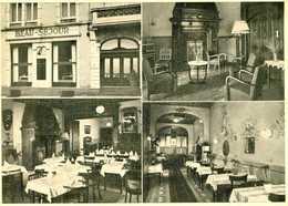 LUXEMBOURG GARE  = Hotel Restaurant  BEAU-SEJOUR   1146 - Postkaarten