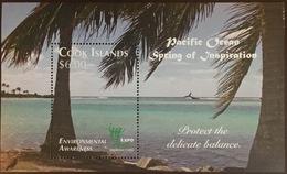 Cook Islands 2010 Shanghai Environmental Awareness Minisheet MNH - Islas Cook