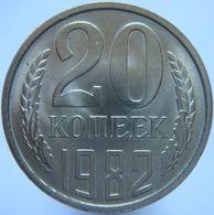 Russia 20 Kopeks 1982 UNC - Russia