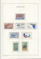 Sheets Leuchtturm For Thailand 1986. Attention!!! Sheets Sold Without Stamps. - Thailand