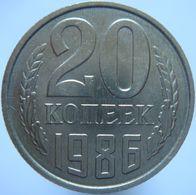 Russia 20 Kopeks 1986 UNC - Russia