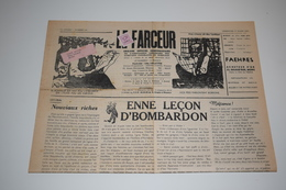 Le Farceur Hebdo Wallon Mons Borinage 27 Mars 1966 - Culture