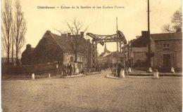 CHÂTELINEAU   Ecluse De La Sambre Et Rue Eudore Pirmez. - Charleroi