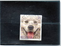 2019 Svizzera - Il Cane - Oblitérés