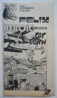 Tillieux. - Félix. - Pop Corn Et Les Diamants. - Récit Complet Spirou 1975. - Spirou Magazine