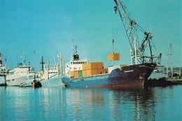 * Cyprus 1970's Postcard * Limassol Port * Collection: Kyprianides * Number : 170 * - Chipre