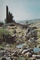 * Cyprus 1970's Postcard * Pafos Skarphos Old Bridge * Collection: Kyprianides * Number : 152 * - Chipre