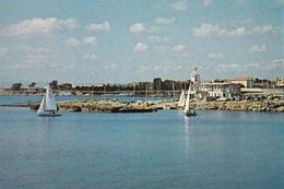 * Cyprus 1970's Postcard * Dekelia Harbour * Collection: Kyprianides * Number : 143 * - Chipre