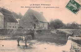 GUEMENE SUR SCORFF -  Le Grand Moulin -1674 ( Animé)  Edts Waron - Guemene Sur Scorff