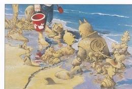 Carte Postale LOISEL Régis Festival BD Saint-Malo 2000 (Tintin Spirou Astérix Lucky Luke Batman... - Cartoline Postali