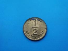 PEROU   1/2 Sol  1976 - Perú