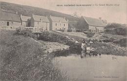 GUEMENE SUR SCORFF -  Le Grand Moulin -1674 ( Animé)  Edts Villard - Guemene Sur Scorff