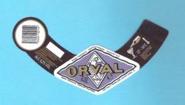 BRASSERIE D'ORVAL - VILLERS D'ORVAL - ORVAL  -  1 BIERETIKET  (BE 281) - Cerveza
