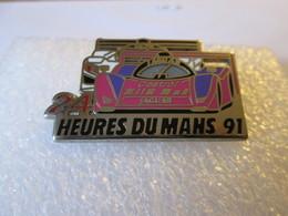 PIN'S   24 H DU MANS 1991  JAGUAR  ET 905  Zamak  Locomobile - Andere