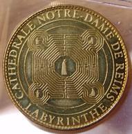 Jeton Touristique Labyrinthe De Notre Dame De Reims 2010 (51) - Arthus Bertrand