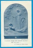 Relic   Reliquia    St. Theresa - Devotieprenten