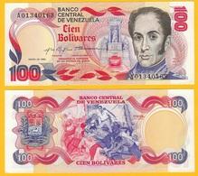 Venezuela 100 Bolivares P-59 1980 UNC - Venezuela