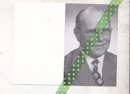 Armand Louis Albert Marie Joseph De Riemaecker, Oudenaarde 1909, Aalst 1995. Dokter In De Rechten, Schepen Ninove - Décès