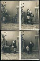 LOT DE 10 CARTES POSTALES THEME JEUX D'ENFANTS - Postkaarten