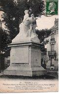 TOURS - MONUMENT ÉLEVÉ A LA MÉMOIRE DES SOLDATS MORTS POUR LA PATRIE (1870-71) - Tours
