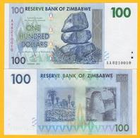 Zimbabwe 100 Dollars  P-69 2007 UNC - Zimbabwe