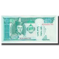 Billet, Mongolie, 10 Tugrik, 2002, KM:62a, NEUF - Mongolie