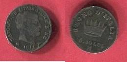 5 SOLDI  ( KM ) TB 6 - Monedas Regionales