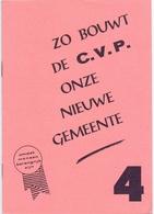 Brochure Politiek Verkiezingen CVP - Maldegem  - 1976 - Oude Documenten