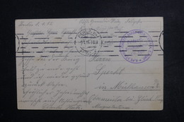 ALLEMAGNE - Carte Postale En Feldpost En 1915 De Berlin Pour Specht - L 48820 - Germany