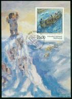 Mk Greenland Maximum Card 1998 MiNr 326 | Greenland Art, Tenth Death Anniv Of Hans Lynge (artist) - Cartes-Maximum (CM)