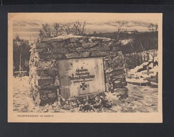 AK Norwegen Heldenfriedhof In Narvik  Feldpost 1942 - Weltkrieg 1939-45