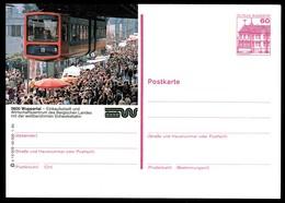 73122) BRD - P 138 - P14/209 - * Ungebraucht - 5600 Wuppertal, Schwebebahn - Cartoline Illustrate - Nuovi