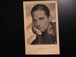 Carte Autographe - PIERRE BLANCHAR - A MONSIEUR DANIEL DUPONT CORDIALEMENT - Handtekening