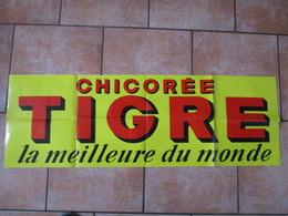 CHICOREE TIGRE LA MEILLEURE DU MONDE 120cm/40cm - Affiches