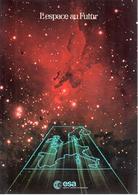 Brochure ESA L'espace Au Futur Années 80 - Libros, Revistas, Cómics