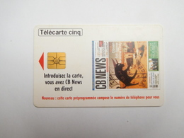 Télécarte Privée , 5U , Gn435 ; CB News - France