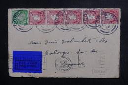 IRLANDE - Devant D' Enveloppe De Corcaigh Pour La France En 1936, Affranchissement Plaisant - L 48825 - Briefe U. Dokumente